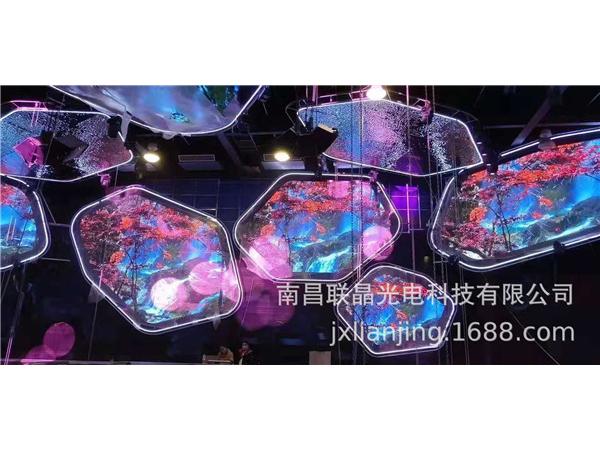 室内酒吧LED显示屏Q3 Q4 Q5 Q6 异形屏